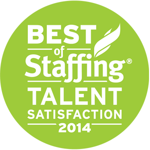 Best of Staffing Talent Satisfaction 2014