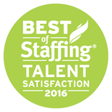 Best of Staffing - Talent Satisfaction