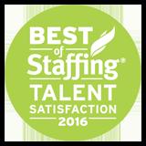 Best of Staffing - Talent Satisfaction